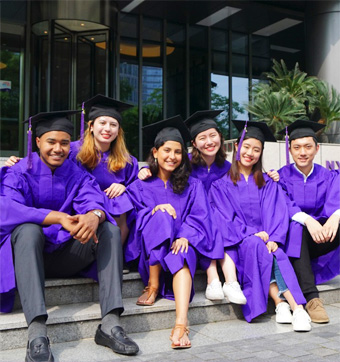 Graduates gain a global perspective on academics