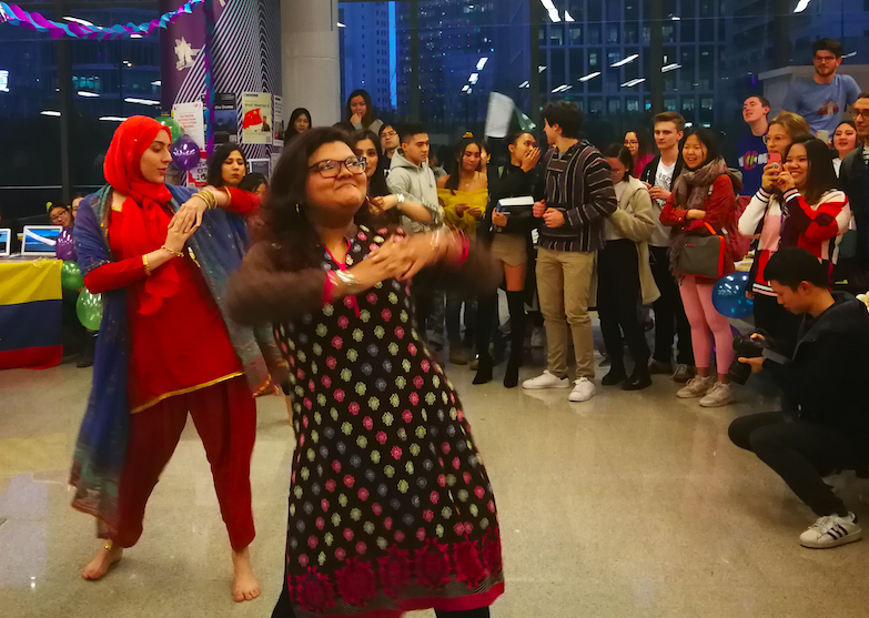 Students dance at the 2019 Cultural Expo