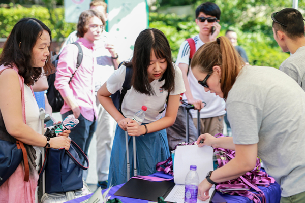 NYU Shanghai Welcomes Class of 2022