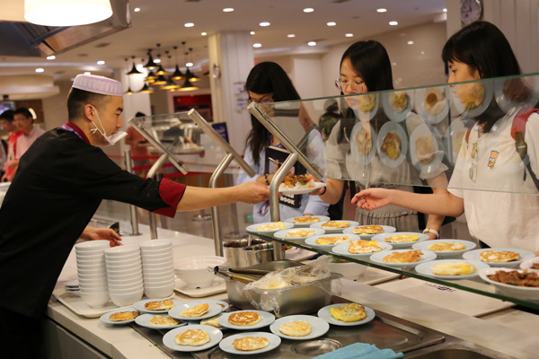 Popular Fresh Food Chain Now NYU Shanghai's Cafeteria Vendor
