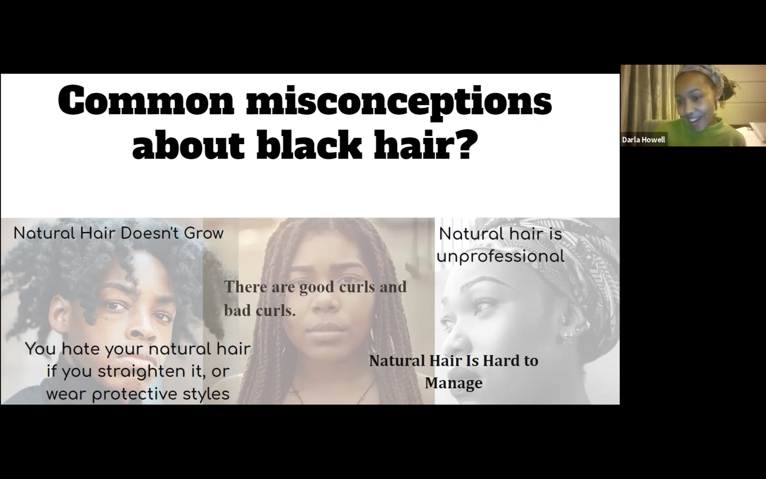 Misconceptions about black hair