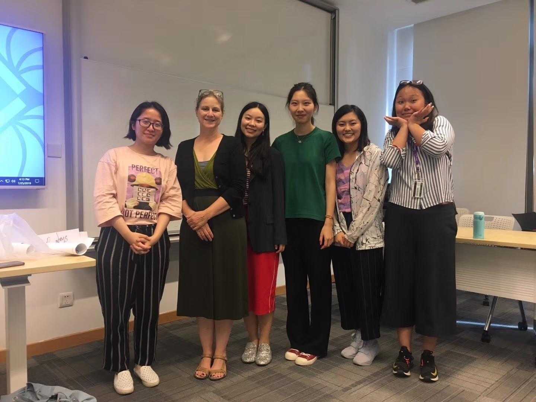 Ling Mei in TESOL class
