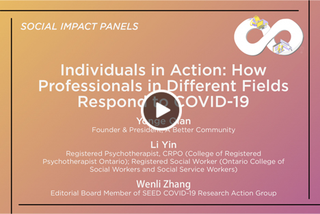 Individuals in Action: How Professionals in Different Fields Respond to COVID