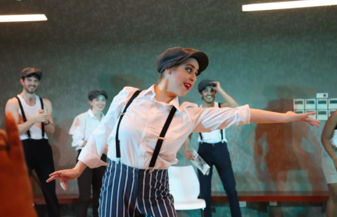 Taylah performs as a Newsie in King of New York