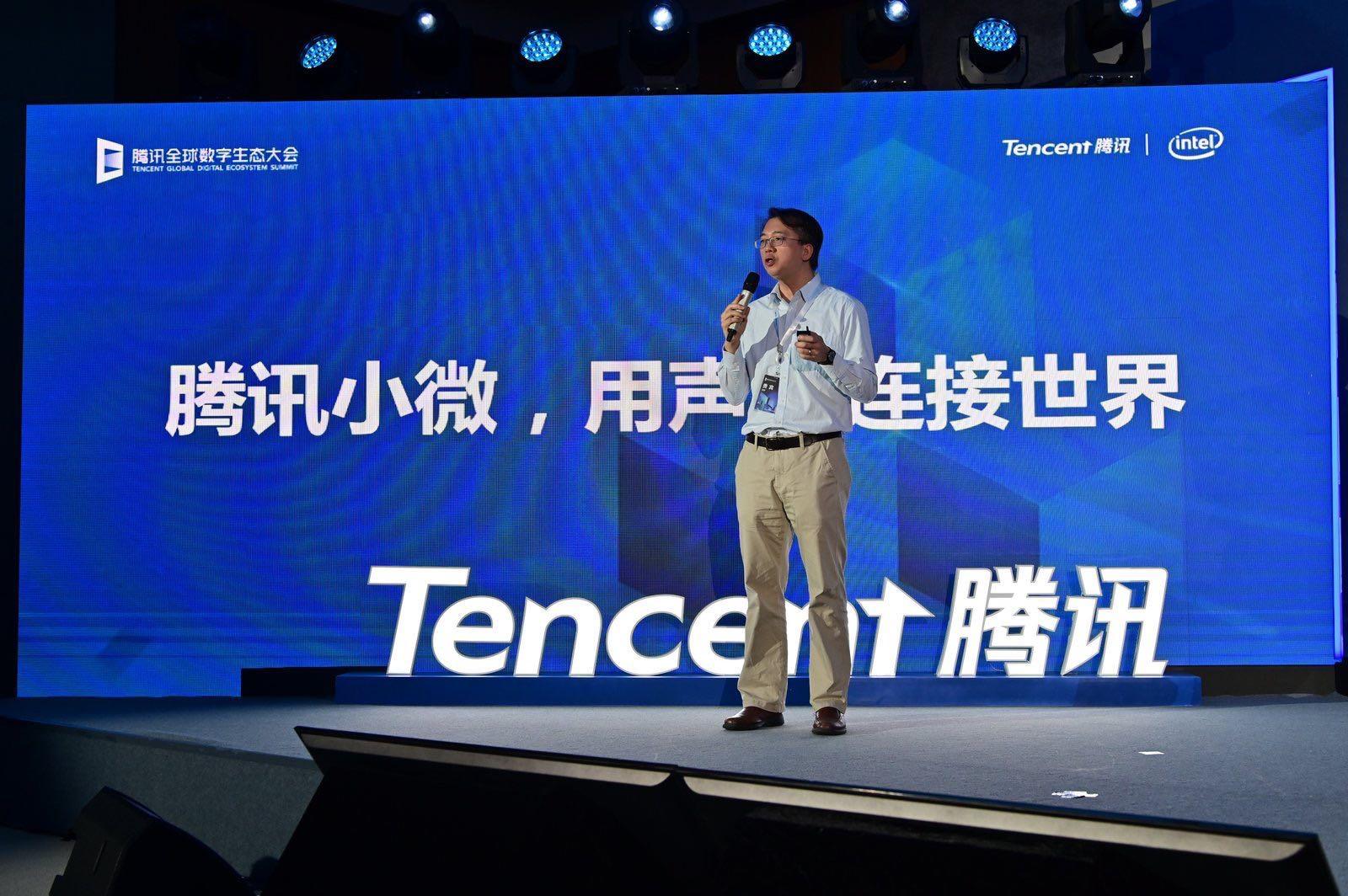 Tam delivers talk against Tencent backdrop