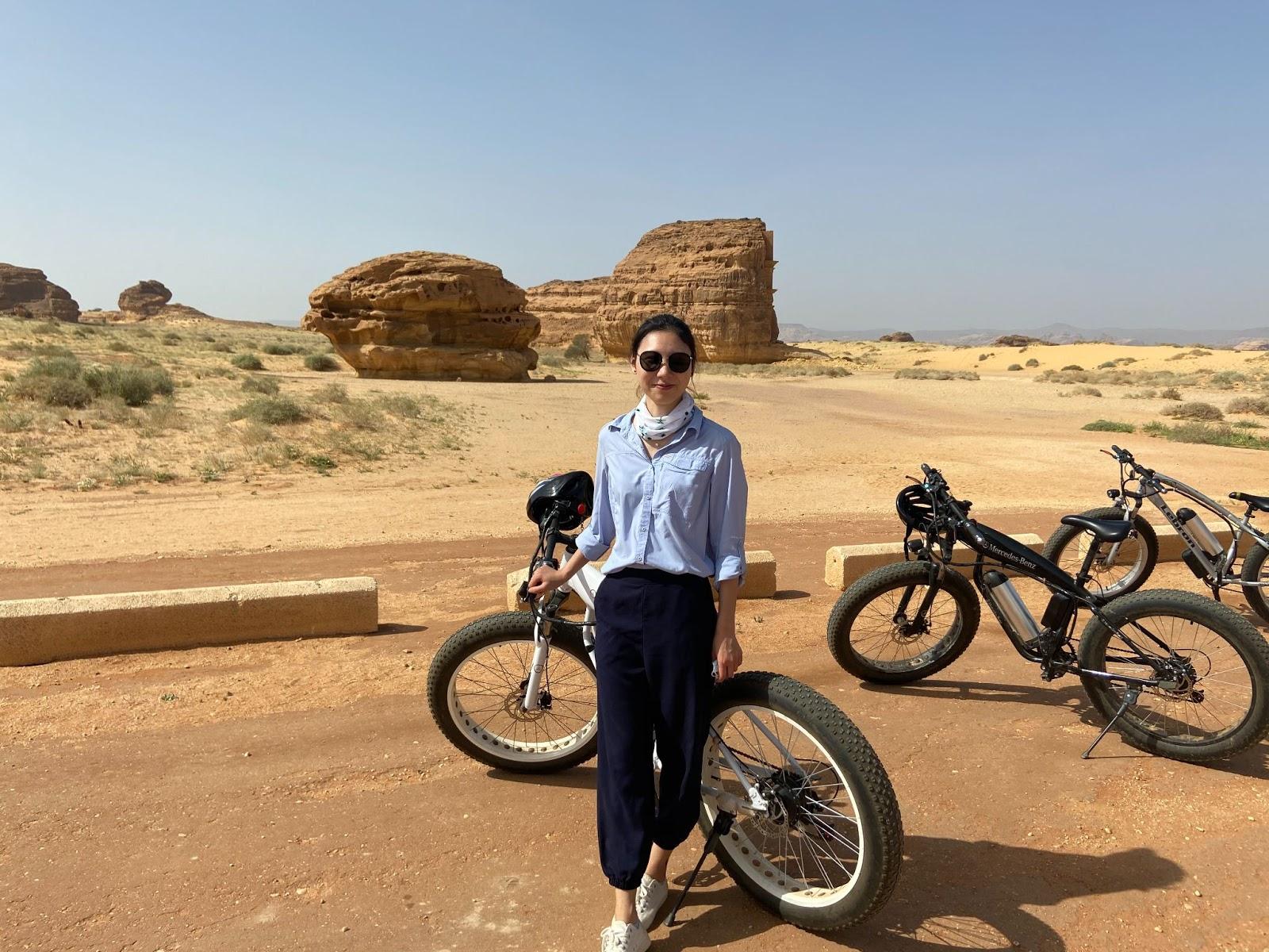 Ling Mei in Saudi Arabia