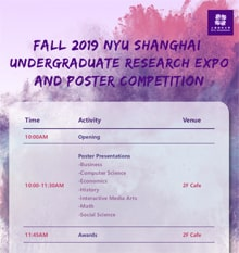 Fall 2019 Undergraduate Research Expo and Poster Competition