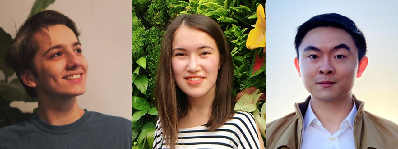 Three Fulbright and Critical Language Scholarship winners