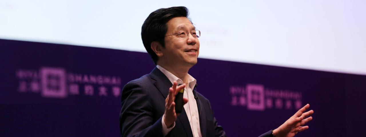 Kai-Fu Lee's Epiphany on Artificial Intelligence