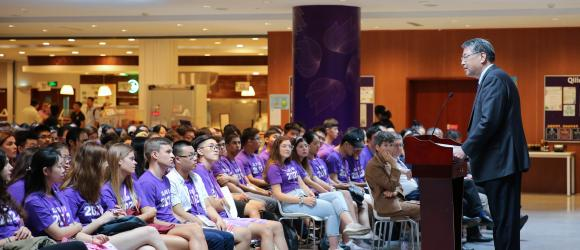 NYU Shanghai Welcomes Class of 2023 Convocation