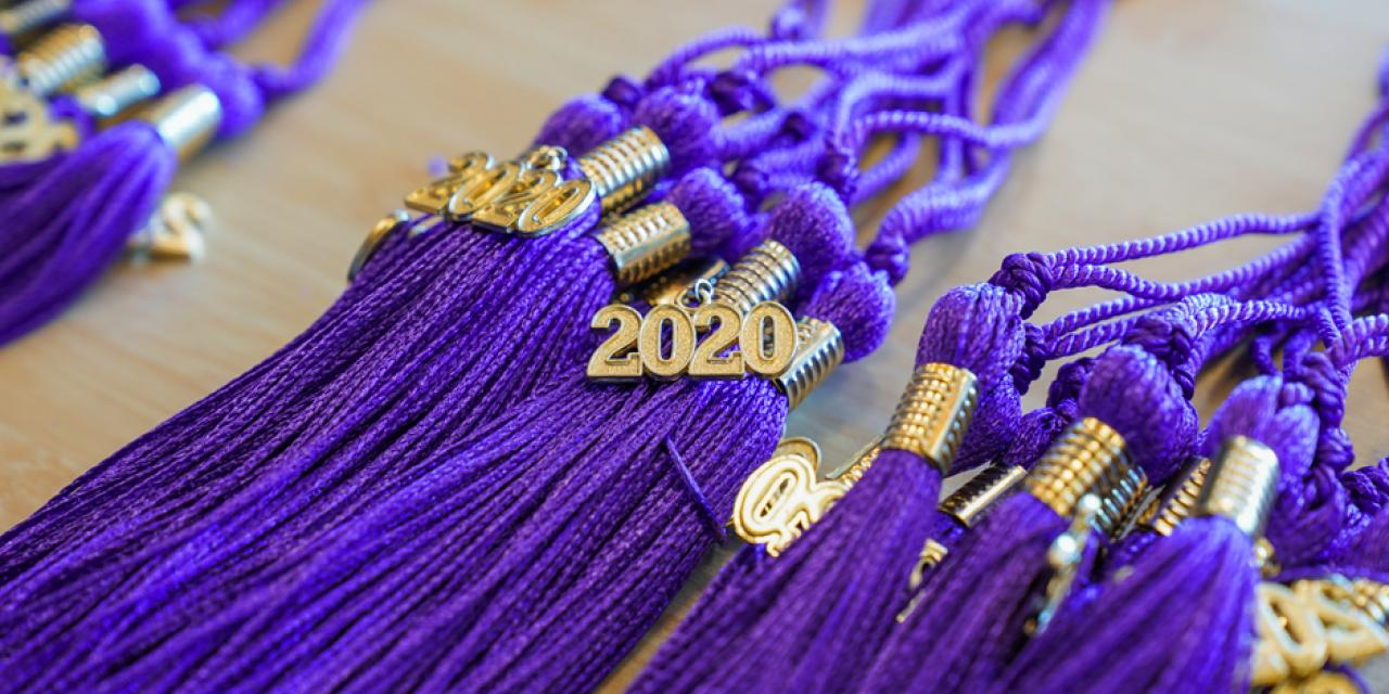 These tassels and more are headed your way, Class of 2020!