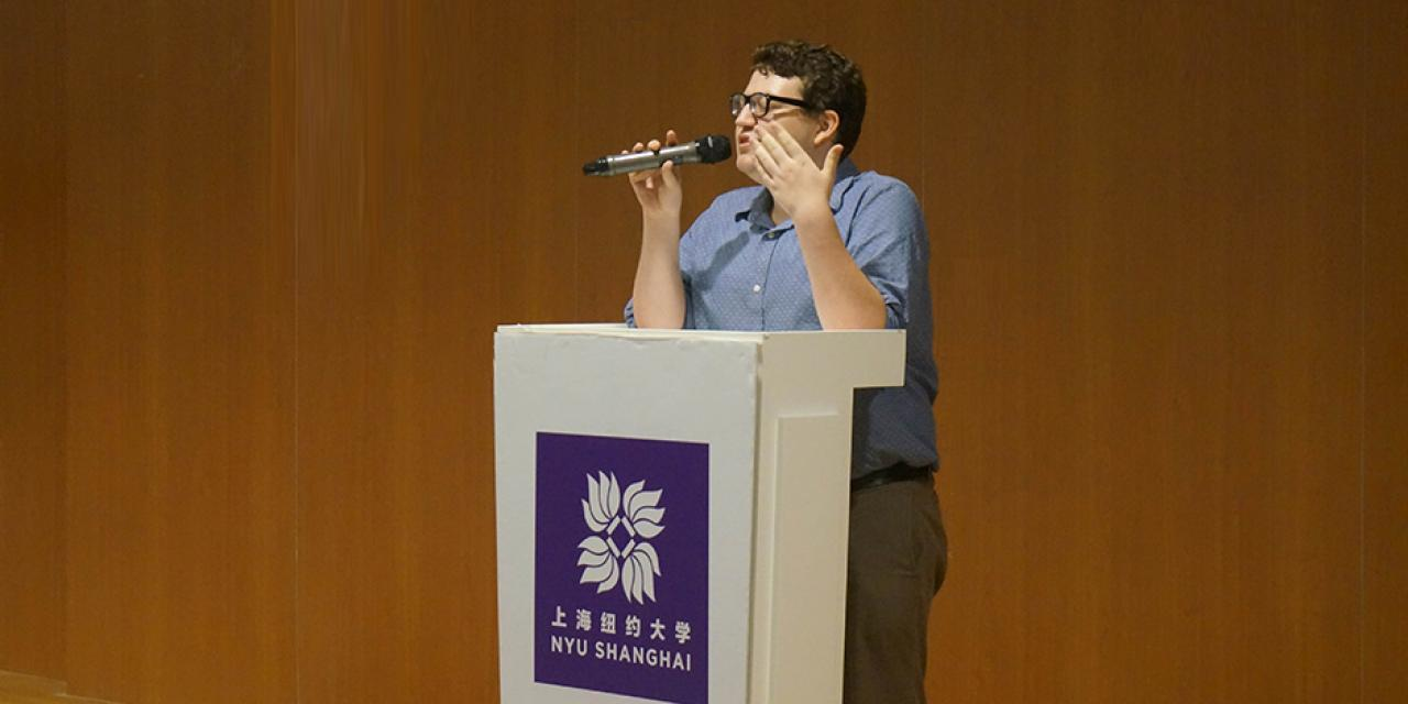Student Government Election, September 29, 2014. (Photo by Zhijian Xu)