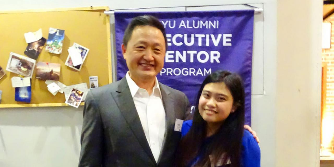 The NYU Alumni Office and Career Development Center hosted the second annual NYU Alumni Executive Mentor Appreciation Dinner on May 5. Some 50 alumni mentors and student protégés gathered to celebrate the rewards of their partnership. (Photos by: NYU Shanghai)