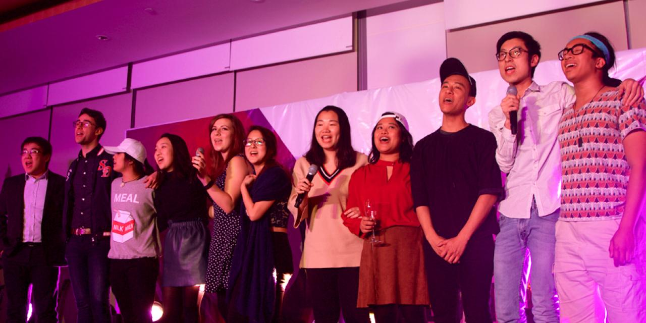 Music and mirth were aplenty with a kick-off celebration to the inaugural commencement of NYU Shanghai on the evening of March 2. (Photo by: NYU Shanghai)