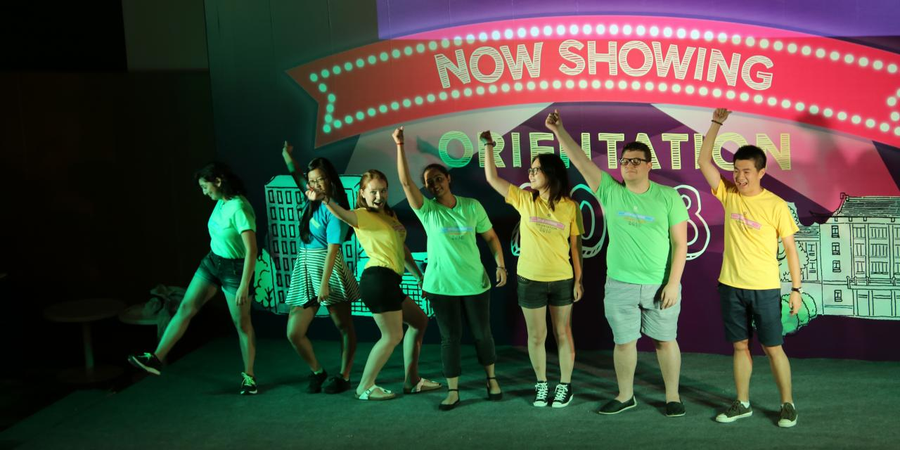 NYU Shanghai New Student Cabaret, August 17, 2014. (Photo by Nicole Chan)