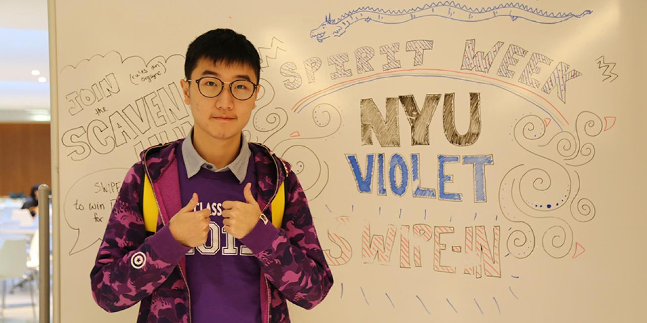 Students jumped into a rollicking week of costume changes and festivities for NYU Shanghai's annual Spirit Week. (Photos by: Agnes Santiano)