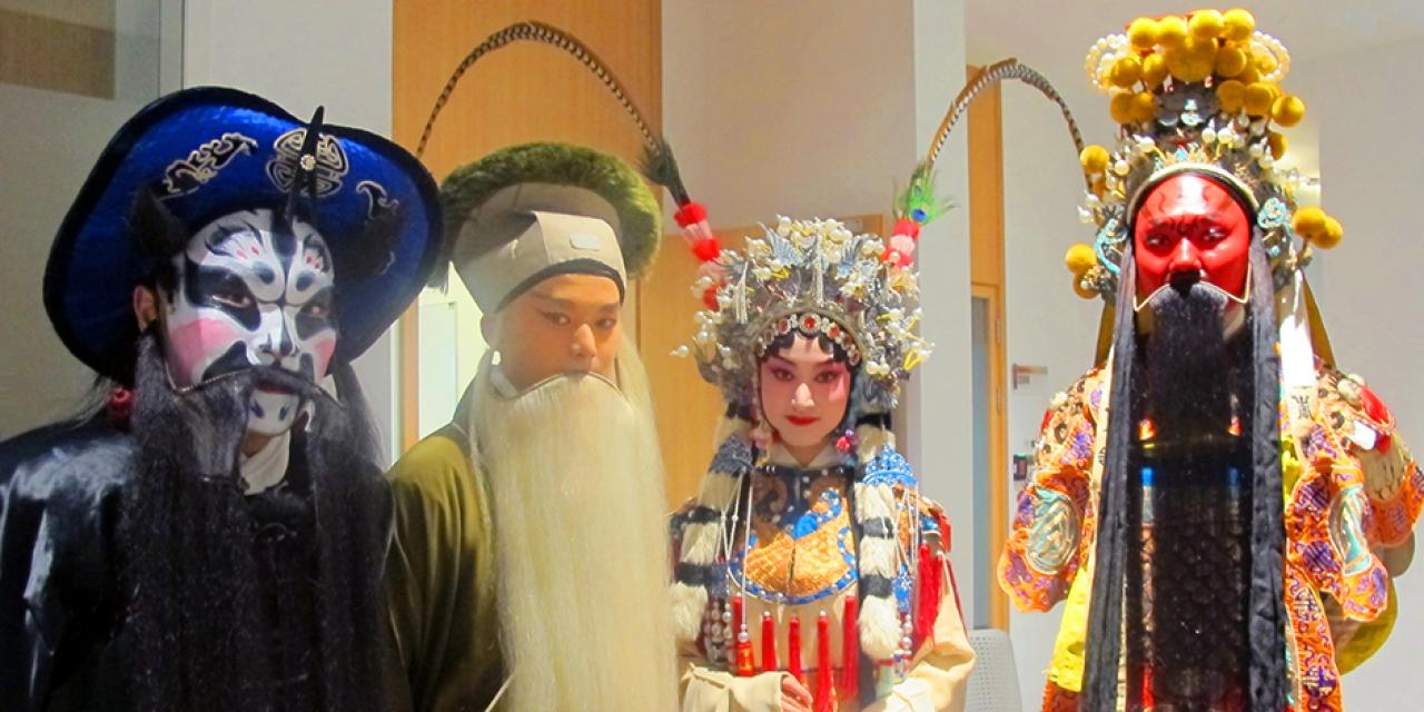 An amazing glimpse into Chinese Kunqu Opera on November 4, 2015. (Photo by: NYU Shanghai)