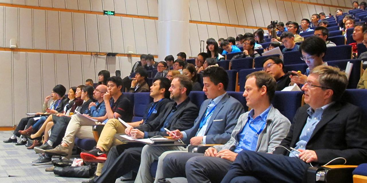 HackShanghai at NYU Shanghai on November 7-8, 2015. (Photo by: NYU Shanghai)