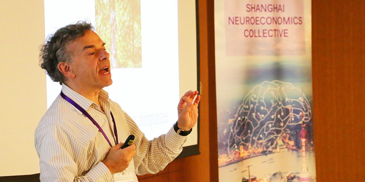 Shanghai Colloquium in Neuroeconomics: Jeremy M. Wolfe, on October 15, 2015. (Photo by: Junbo Chen)