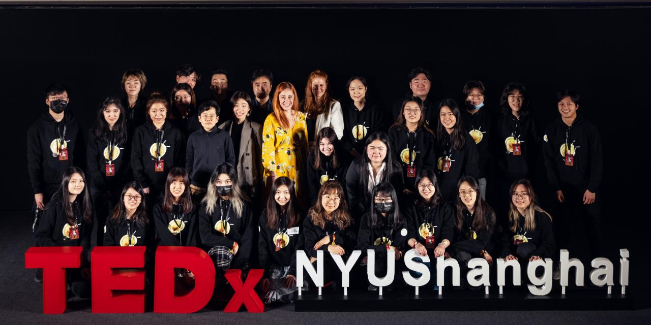 "On April 17, TEDxNYUShanghai presented ""On the Flip Side,"" the first in-person conference to take place on campus since the COVID-19 pandemic. Inspired by the lyrics of Chinese singer Lexie Liu's hit 佳人 (Jiaren), this year's conference explored how moments of crisis - from global pandemics to the failure of personal relationships - can become moments of opportunity to see things from a new perspective."
