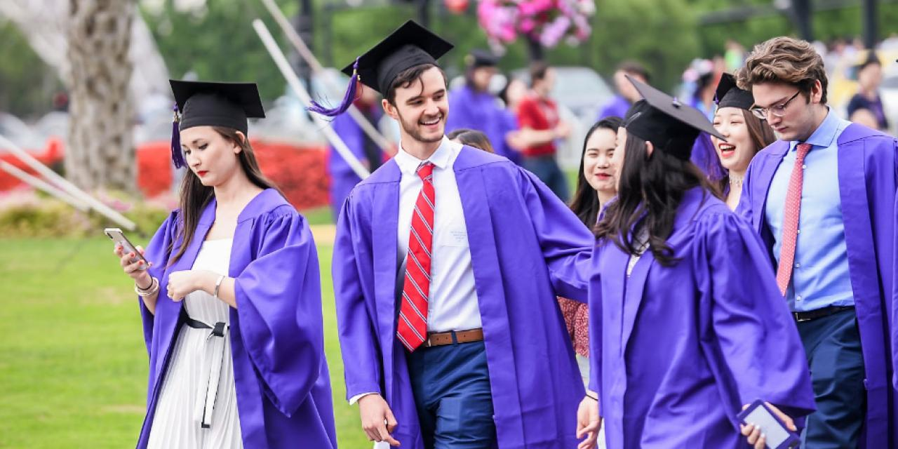 It was an emotional and unforgettable day on Century Avenue, as the NYU Shanghai community came out to support our Class of 2019 graduates for their walk across the stage at the Shanghai Oriental Art Center. See photos and relive those wonderful moments.