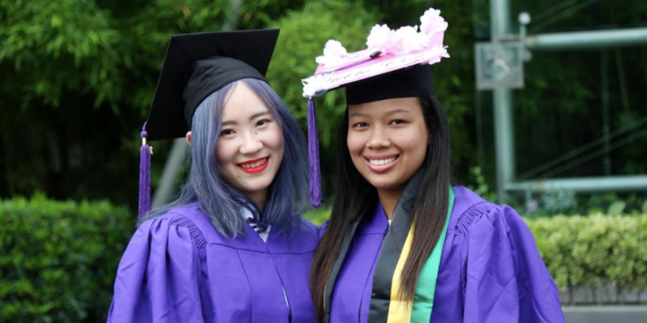 Qian Xinyi and Bridgette Williams