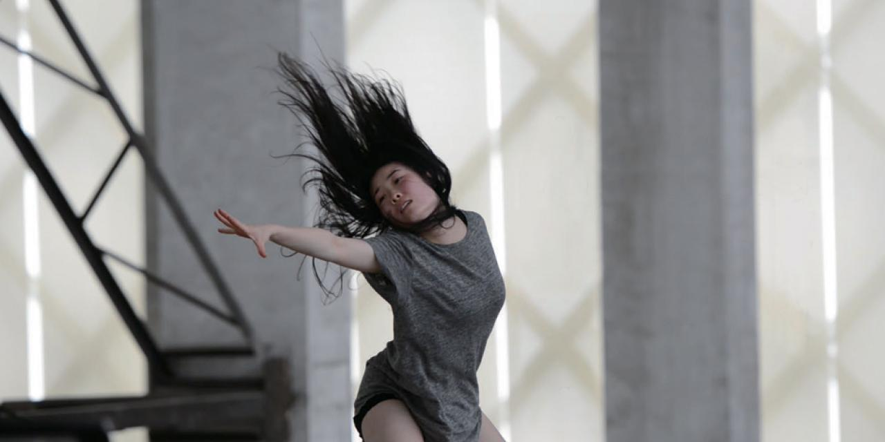 'Dance for Camera' is a video production by artist and choreographer Aly Rose, created in conjunction with New York University Shanghai's dance program and three leading art spaces in Shanghai. This series of photographs capture those performances.