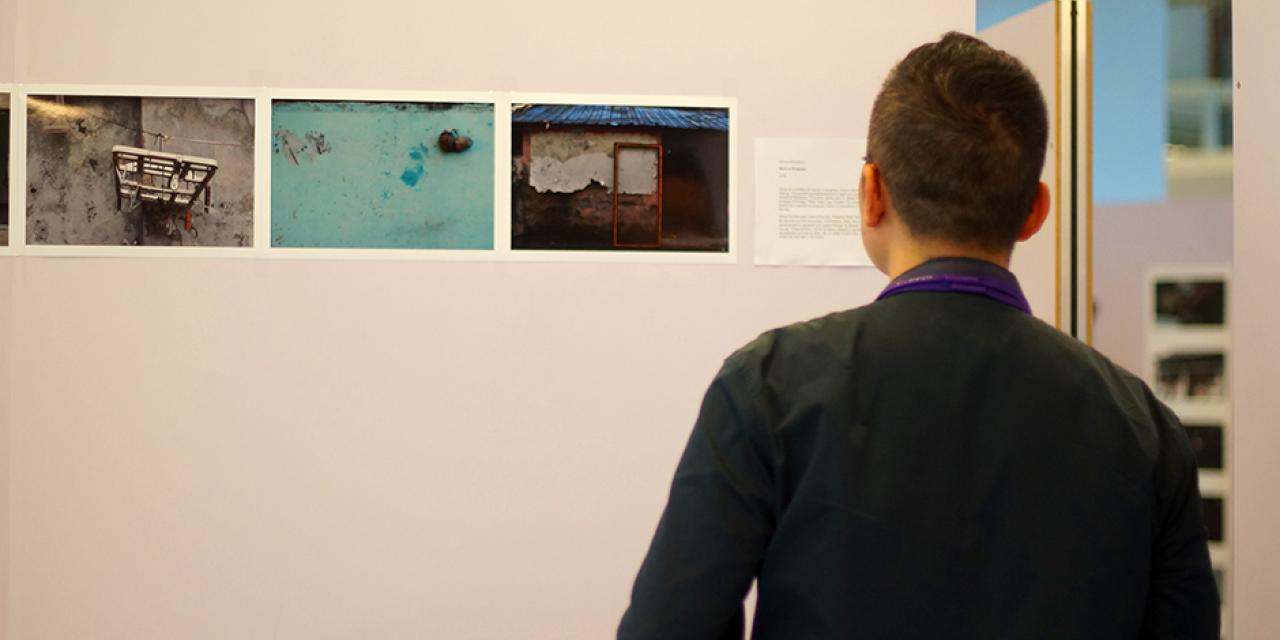 Image and Imagination, hosted by art professors Barbara Edelstein and Jianjun Zhang showcased artworks from students in Introduction to Photography on May 3. (Photo by: NYU Shanghai)