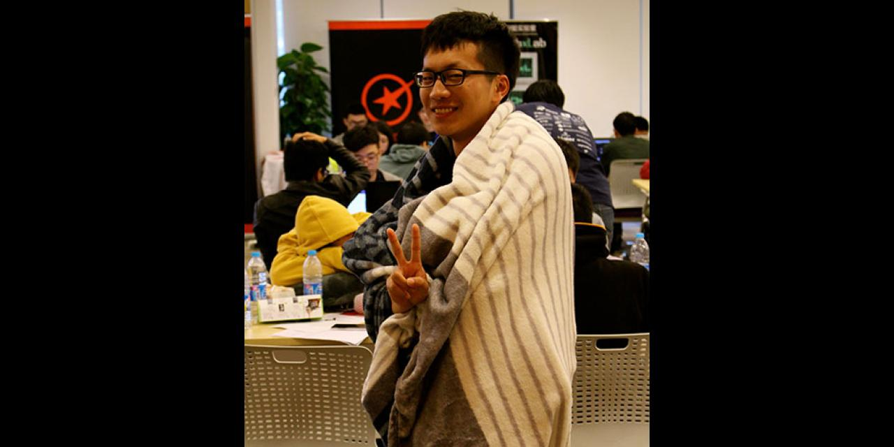 250 of the world's top student programmers competed in HackShanghai, a 24-hour coding marathon. November 15-16, 2014. (Photo by Sunyi Wang)