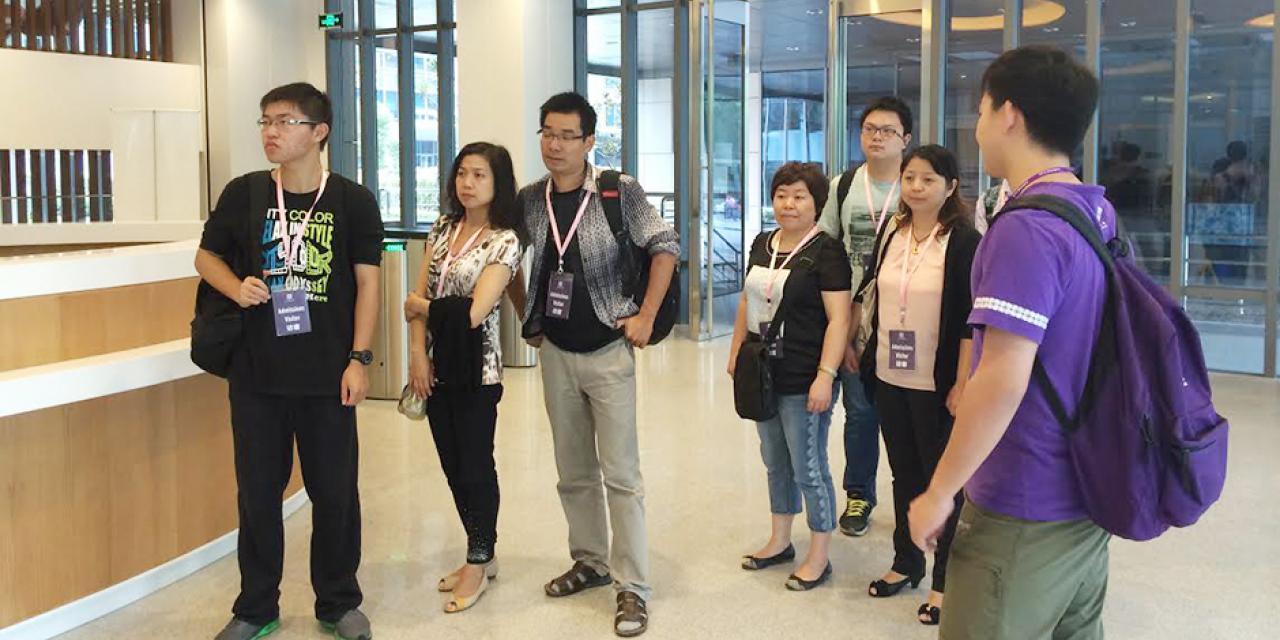Campus Tour, September 27, 2014
