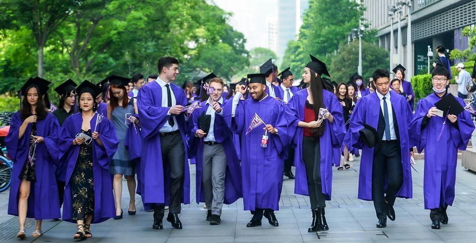 NYU Shanghai Commencement 2021