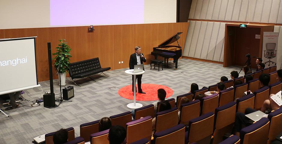 TEDxNYU Shanghai, October 24, 2014. (Photo by Kadallah Burrowes)