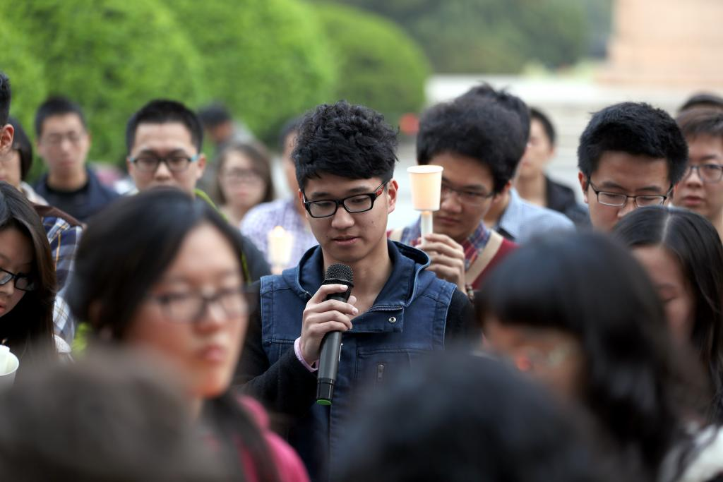 Candlelight Vigil for MH370, March 26, 2014