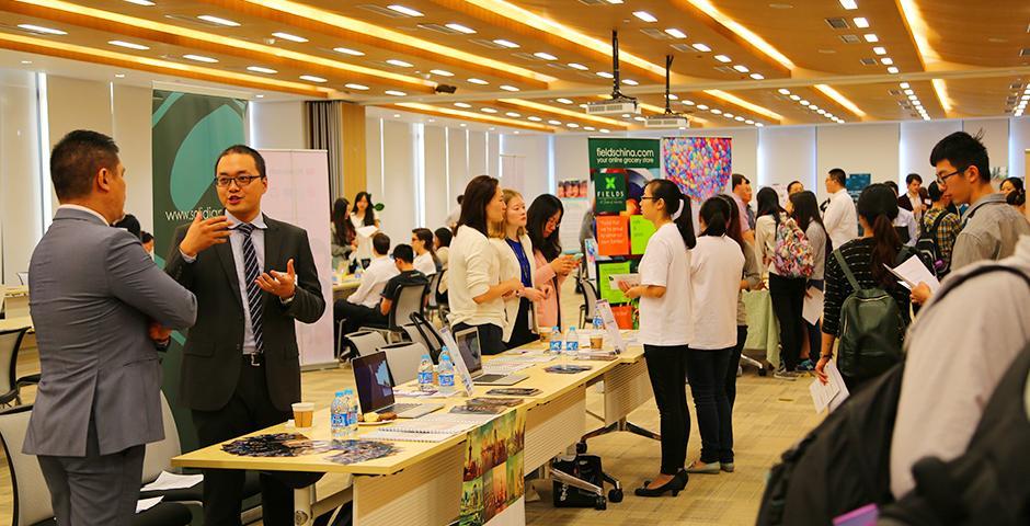 Internship Fair on October 16, 2015. (Photo by: Shikhar Sakhuja)