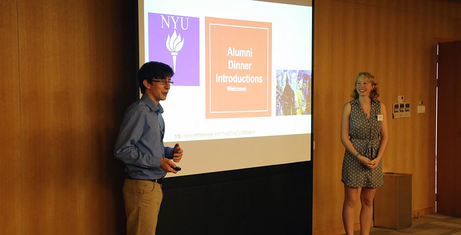 The NYU Global Alumni Programs and NYU Shanghai's Career Development Center held a launch dinner for the second year of the NYU Alumni Executive Mentor Program on November 12, 2015. (Photo by: Wenqian Hu)
