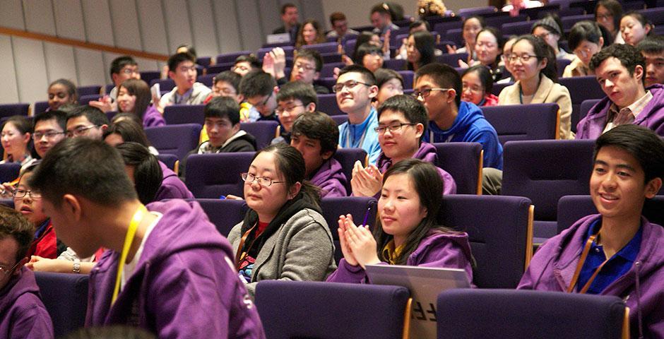 上海纽约大学2015年校园日活动于2月至3月分四场举行。(摄影:王孙怡)