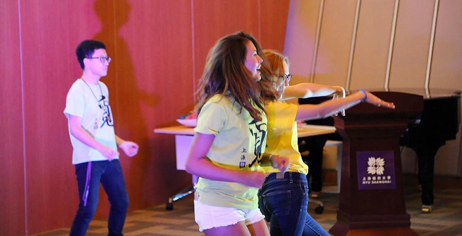 Orientation Ambassadors Cabaret Show on August 22, 2015. (Photo by Sunyi Wang)