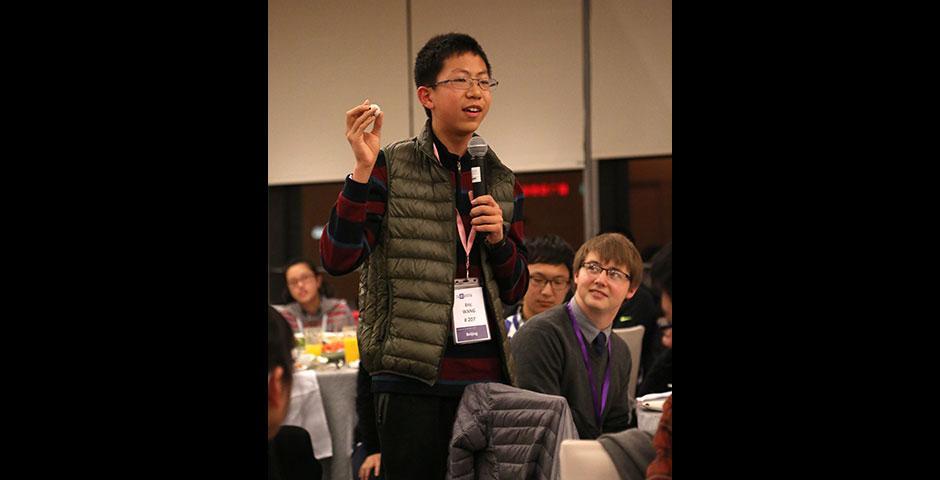 上海纽约大学2015年校园日活动于2月至3月分四场举行。(摄影:Dylan J Crow)
