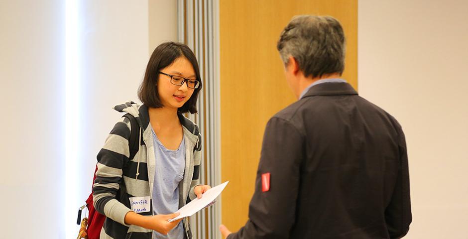 Internship Fair on October 16, 2015. (Photo by: Mei Wu)