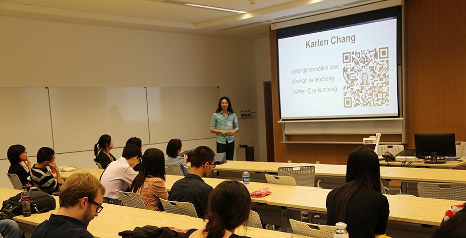 2015年10月24日,秋季Barcamp在上海纽约大学举行。 (摄影: Shikhar Sakhuja)