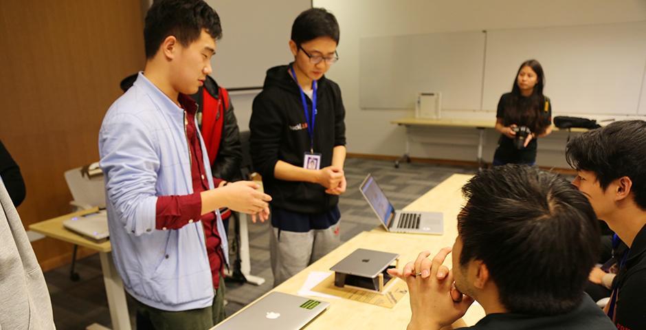 HackShanghai at NYU Shanghai on November 7-8, 2015. (Photo by: Shikhar Sakhuja)