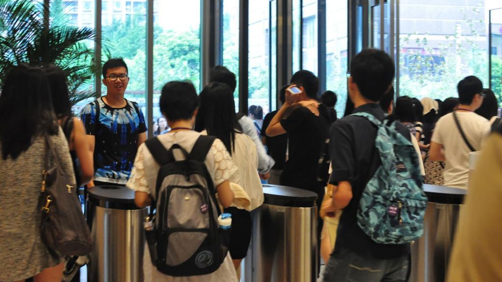 NYU Shanghai Held Fire Drill, August 27, 2014. (Photo by Anna Perez)