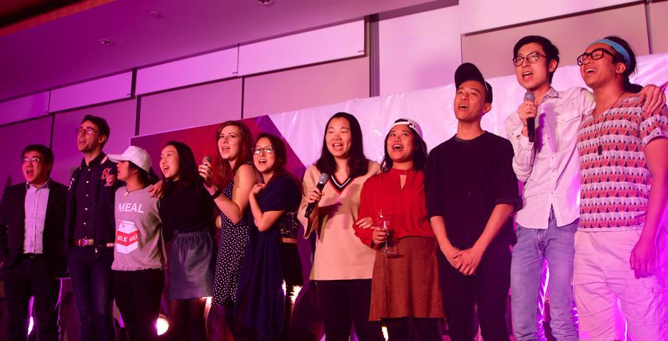 3月2日晚,在一片欢歌笑语中,上海纽约大学启动了首届本科生毕业典礼的88天倒计时活动!