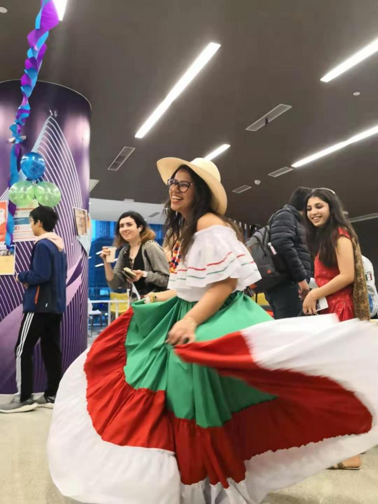 NYU Shanghai students shared food, dance, and music from their home countries at the Student Government's Cultural Expo on February 28.
