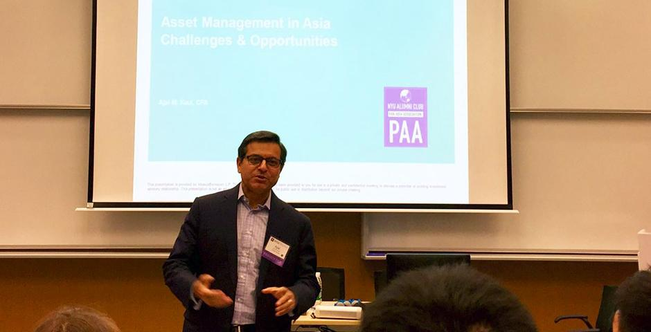 NYU Pan-Asia Alumni Conference on Sept. 12, 2015. (Photo by Xin Wei)