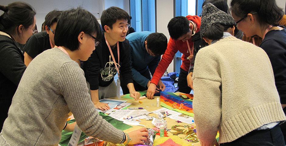 上海纽约大学2015年校园日活动于2月至3月分四场举行。(摄影:Rhine Lu)