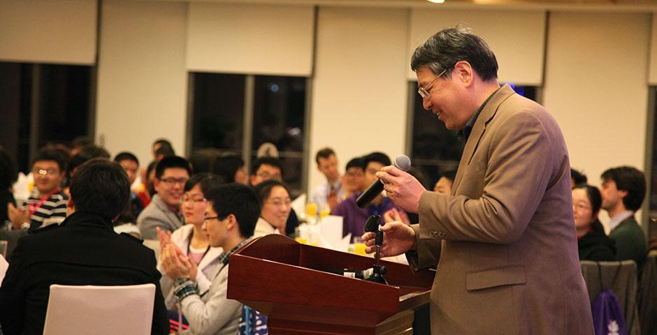 上海纽约大学2015年校园日活动于2月至3月分四场举行。(摄影:Kylee Borger)