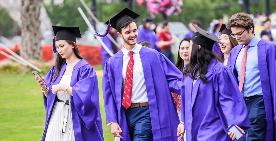 这是激动人心、令人难忘的一天,上海纽约大学2019届本科生毕业典礼在东方艺术中心举行,看看照片,重温那些美好的时刻。
