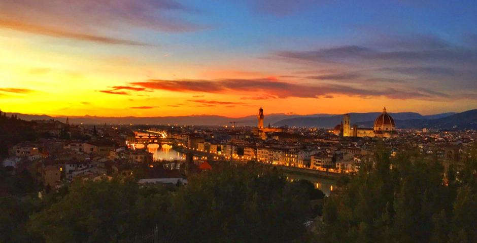 Florence By Megan Hou (Florence)  Sunset from Piazzale Michelangelo.