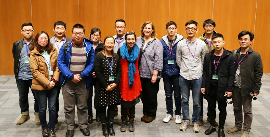 The Assistive Technology Workshop, held March 12 and 13, highlighted devices that can provide those with special needs additional convenience for a variety of tasks and featured a number of industry specialists, as well as the greater NYU Shanghai community. (Photo by: NYU Shanghai)